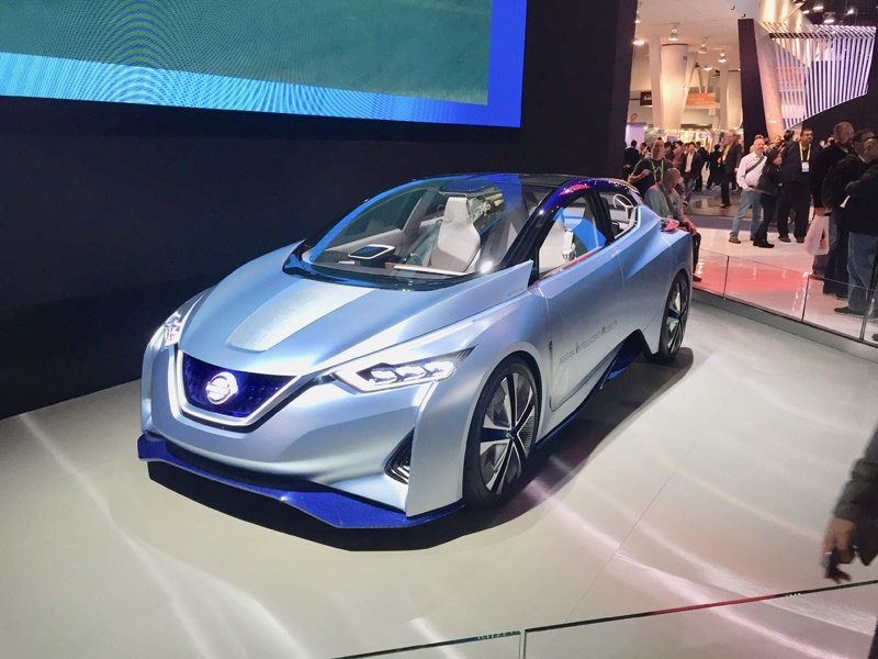 CES 2017 Las Vegas Nissan SAM Concept Cars